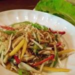 中華風家庭料理 ふーみん - 豚肉と野菜の細切り炒め
