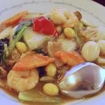 中華風家庭料理 ふーみん - 五目焼きそば