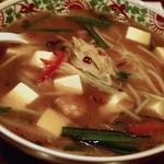 中華風家庭料理 ふーみん - 豆腐そば