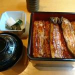 うな明 - 料理写真:鰻重(特)(5400円)
