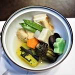 竹葉亭 - 野菜煮