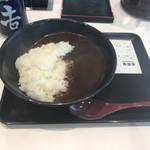 吉野家 - 料理写真:黒カレー
