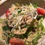 首里 - あぐー豚サラダ