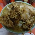 70443780 - 国産豚麺。なんともワイルドなルックス
