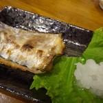 親父の料理 - ◆太刀魚の塩焼き(小:200円)