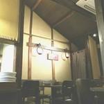 70446100 - 吹き抜けの店内は天井が高くウッディで気持ちが良い!