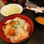 とんかつ 勝 - 料理写真:ランチのカツ丼