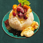 カフェ マラッカ - カフェマラッカのかき氷。東南アジアかき氷:アイスカチャンのココナッツミルク味。