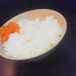 らーめん 千家 - ライス(150円)