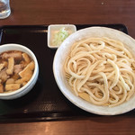 麦の蔵 - 「肉汁うどん 小盛」750円