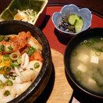 樽源 - 石焼き海鮮キムチ丼