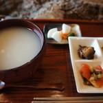 三宅商店 - 朝粥セットのみのアップです(2017.7.23)