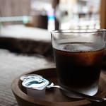 三宅商店 - プラス100円でいただいた、アイスコーヒーです(2017.7.23)