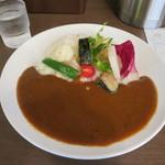 Cfarm - 野菜カレー 750円(大盛無料)