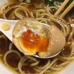 本町製麺所 阿倍野卸売工場 中華そば工房 - 煮玉子