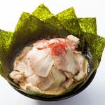 クリーミーTonkotsuラーメン 麺家神明 - BIG神明スペシャル(SPの更に上のTP)