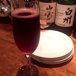 コマツ 大名店 - 樽生スパークリングワイン・赤(2017.7)