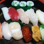 すし海道 - 料理写真:宗谷 1000円
