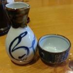 魚佐 - 追加で日本酒1合 値段失念(>_<)