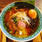 めんちゃんこ亭 - 料理写真:木久蔵ラーメン
