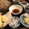 そば処 とう松 - 料理写真:天せいろ、穴子で