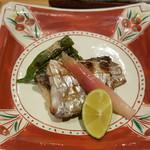 鮨 歴々 - 太刀魚の塩焼き