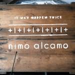 ニモ アルカモ - お店の名前が書かれた看板