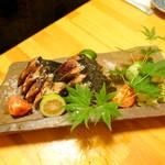 かもん亭 - カツオの塩タタキ