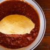カフェイチマルマルイチ - 料理写真:存在感のある大きなオムレツ♪