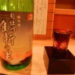 ちょい家 - 司牡丹(純米酒 維新の里)