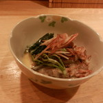 ちょい家 - 料理写真:ホタルイカの酢味噌あえ