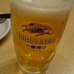 嘉っとび寿司 ざぶん - ドリンク写真:トリビーで乾杯しました(^-^)/