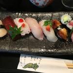 寿し善 - ひのきランチのお寿司