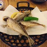 大阪 満マル - まめ鰺の唐揚げ