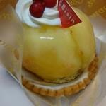 70460318 - 桃のケーキ