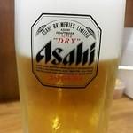 福しん 新宿ペペ前店 - 生ビール¥430