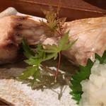 呑み食い処 源ちゃん - ブリカマ塩焼き