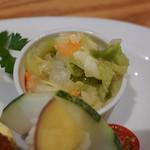 ツムギ キッチン - コールスローサラダ