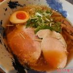 茨木きんせい - 料理写真:魚介醤油の冷やしラーメン \800