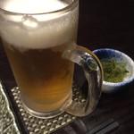 70466807 - 生ビールとお通し
