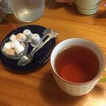 カフェブルー - セットドリンクで紅茶を注文