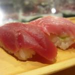 板前寿司  - 赤身と中トロ