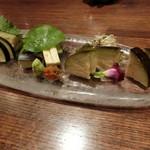 70468570 - 「泉州水茄子のお刺身」700円