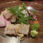 茶良ら - 「鱧の炙り」1,000円