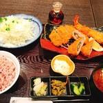 Tonkatsuhamakatsu - 梅しそ巻ヒレ膳