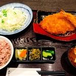 Tonkatsuhamakatsu - 黒豚ロースカツ定食
