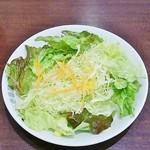 70469796 - 野菜サラダ185円。