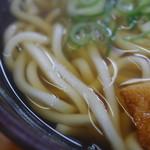 三角茶屋豊吉うどん - 麺