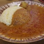 サトナカ - 料理写真:チキンカレー(スパイシー)