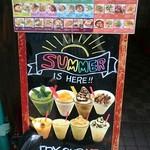 Sakurakafeandoresutoranikebukuro - お店の看板